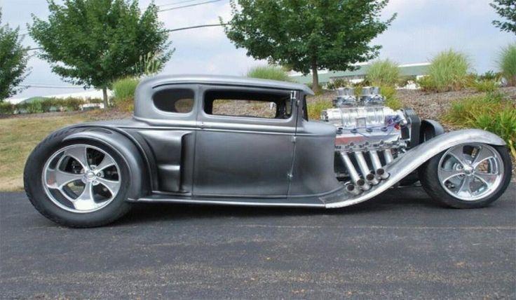 very pretty custom car.