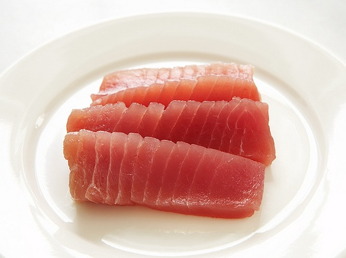 Rare Tuna Salad with Avocado and Daikon Sprouts | Recipe