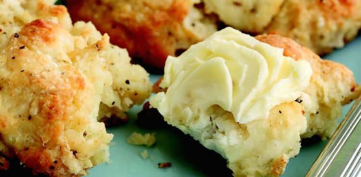 Peppered Pear & Goat Cheese Scones - culture: the word on cheese