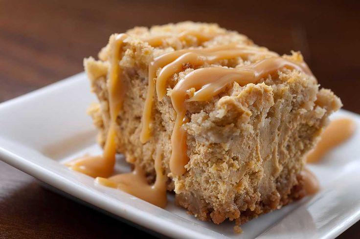 Recipe for Pumpkin Cheesecake Bars at Life's Ambrosia