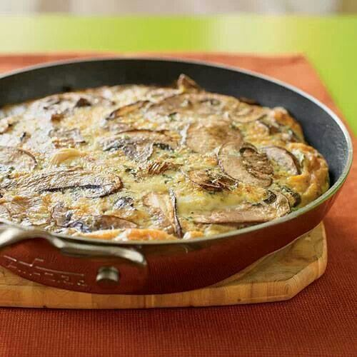 MUSHROOM FRITTATA | # BEST EATS # shared | Pinterest