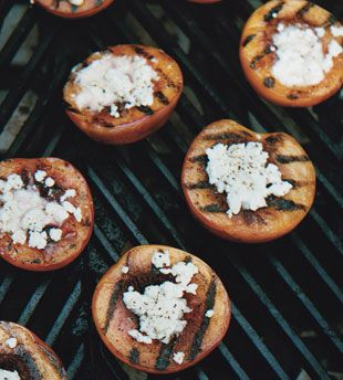 Grilled Nectarines with Feta Grill marks look great on more than just ...