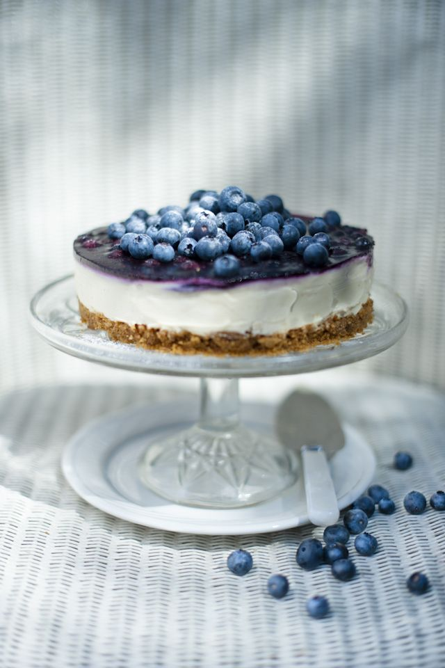 Blueberry Cheesecake Recipe | Berry Recipes | Pinterest