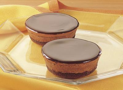 Chocolate Mini Cheesecakes | Sweet Recipes | Pinterest