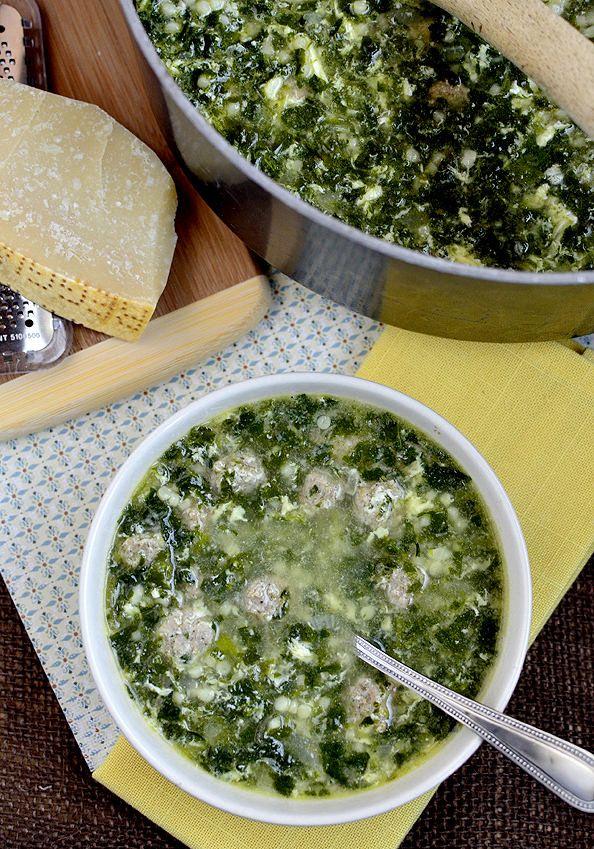Italian Wedding Soup   iowagirleats.com   Food/Soups and Chowders   P ...