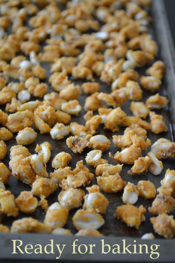 Veggie Platter: Baked Masaa Peanuts / Peanut Bhujiya