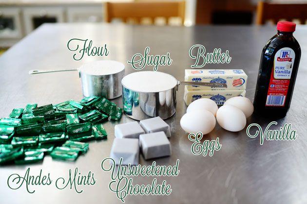 Chocolate Mint Brownie Bites, The Pioneer Woman, via Flickr