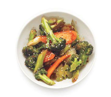 Broccoli and Pepper Stir-Fry | Food | Pinterest