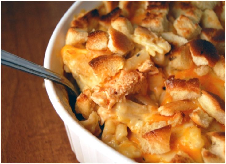 ... yummy i know bing would love this even though it is mac and cheese