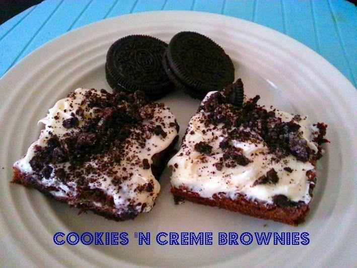 Cookies and cream brownies | CHOCOLATE | Pinterest