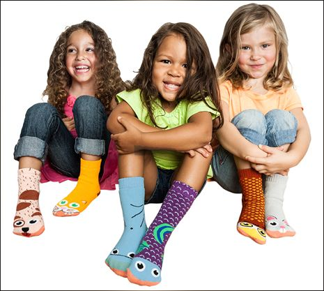 Vs. Stuff : Vs. Socks : Kids : Girls 3-Pack