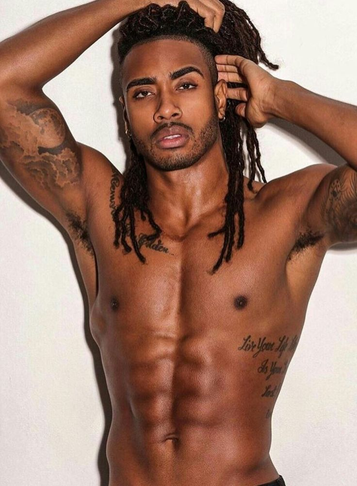 Sexy gay blackmen with dreads