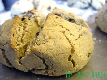 Gluten & sugar-free Irish Soda Bread. I'm so happy I could do a littl...