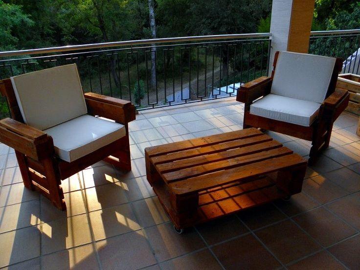 Diy muebles palets  Pallet furniture  Pinterest