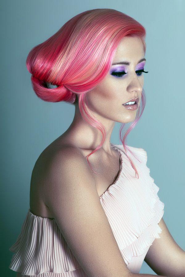 Elumen Pink Hair Color