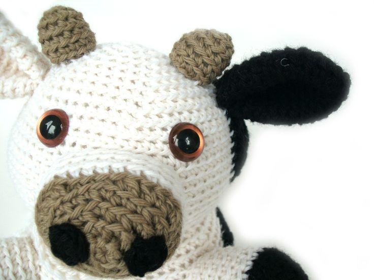 Amigurumi Crochet Pattern Cow : amigurumi crochet cow pattern Crochet doll / Bears/ Toys ...