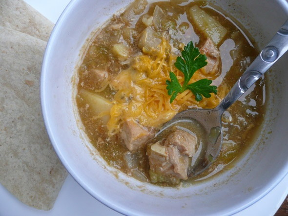 Green Chile Pork Stew | Crock Pot | Pinterest