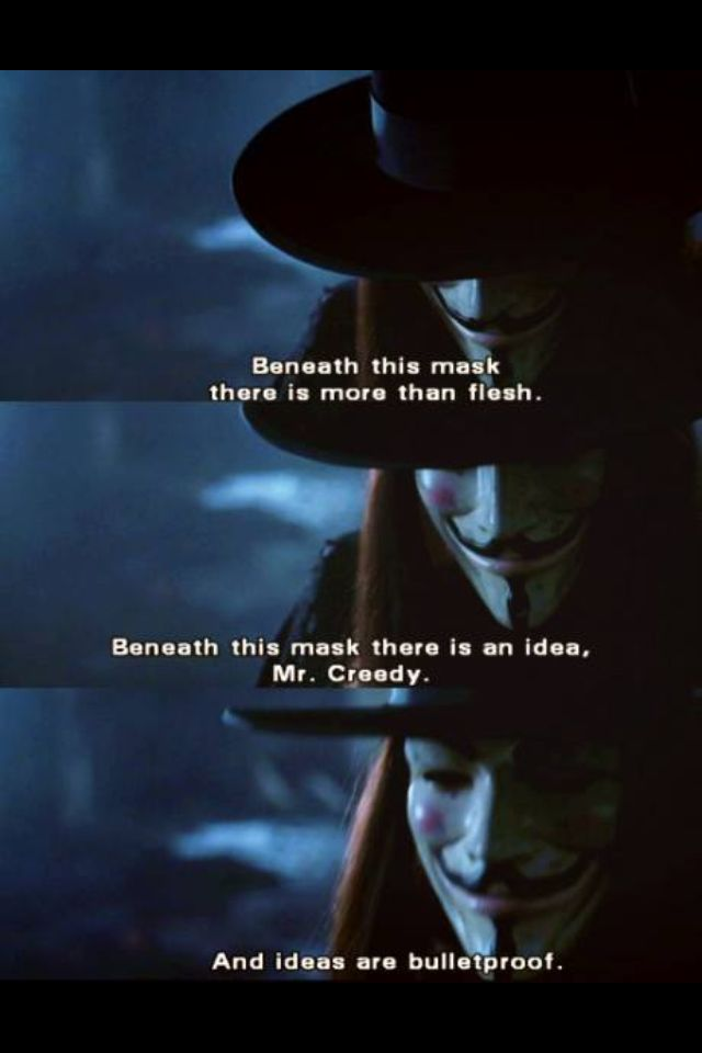 V For Vendetta Quotes Ideas. QuotesGram