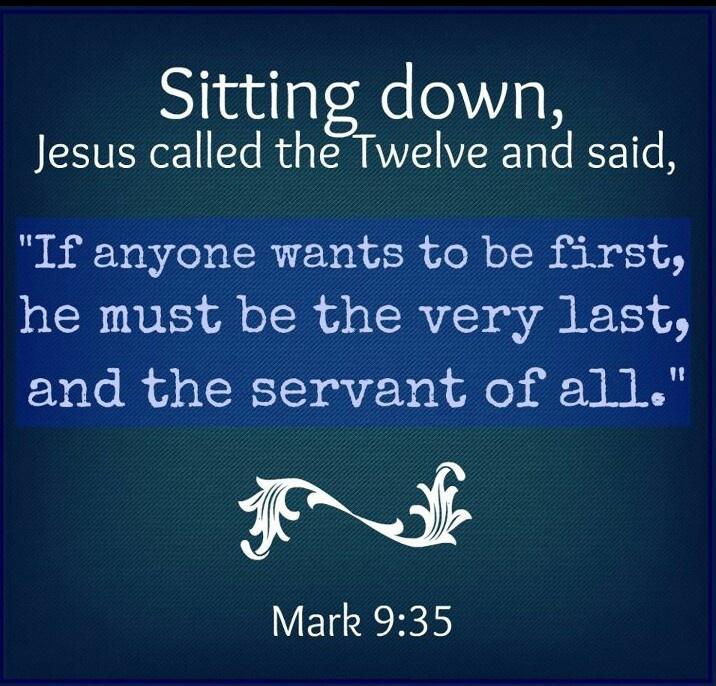 Image result for Mark 9:35