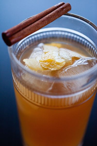 Apple Cider Spice Cocktail | Recipes to Get Excited About | Pinterest
