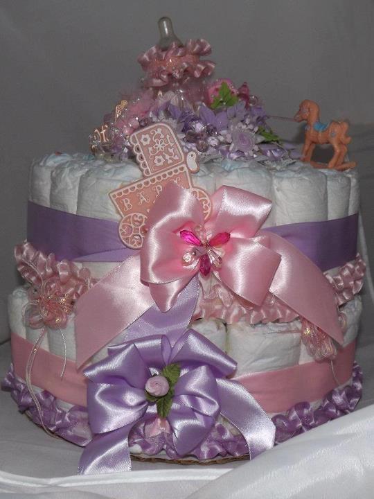 Baby Shower Pamper Cake Ideas