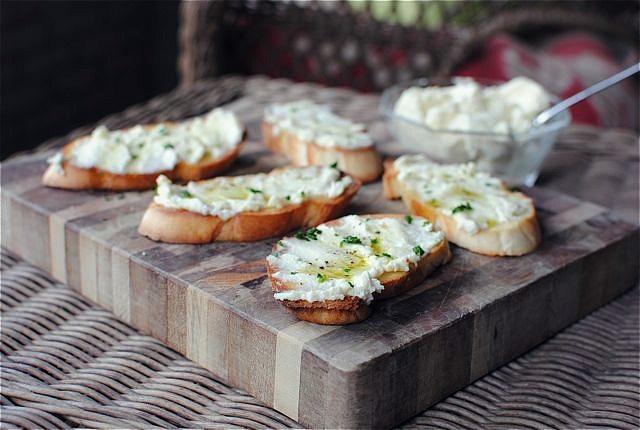 Homemade ricotta! | SpicyEATS / Appetizers | Pinterest