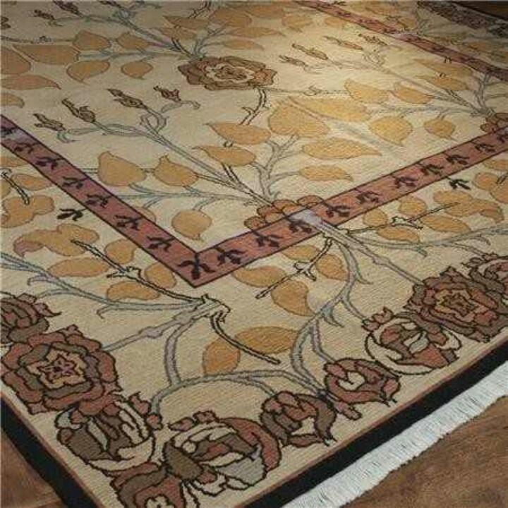 arts and crafts rug 1913 paint decor pinterest. Black Bedroom Furniture Sets. Home Design Ideas