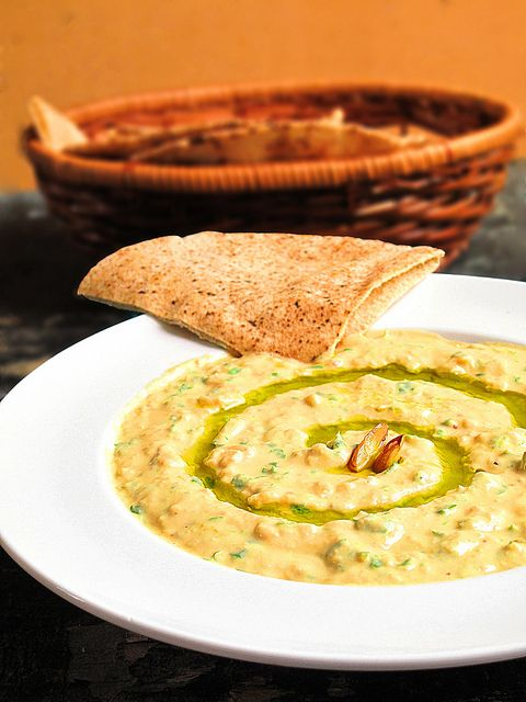 Artichoke Hummus Dip With Hazelnuts & Garbanzo Beans Recipes ...