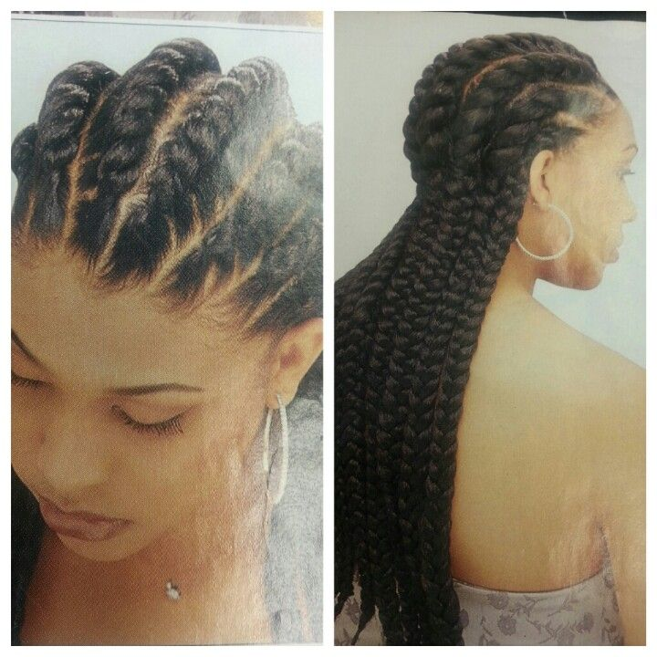 Goddess twists Hair Pinterest - Flat Twist Hairstyles On Relaxed Hair