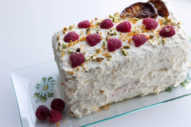 Pistachio Cake with Meyer Lemon Mascarpone Frosting with Fresh ...