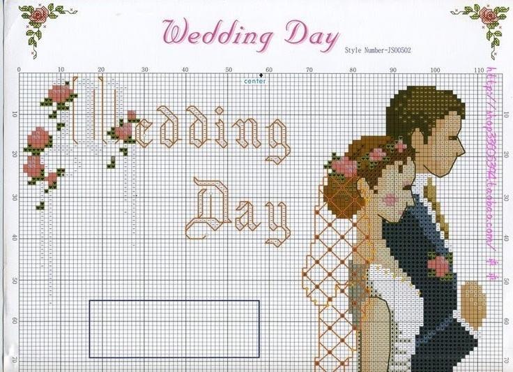 Схемы для вышивания невеста