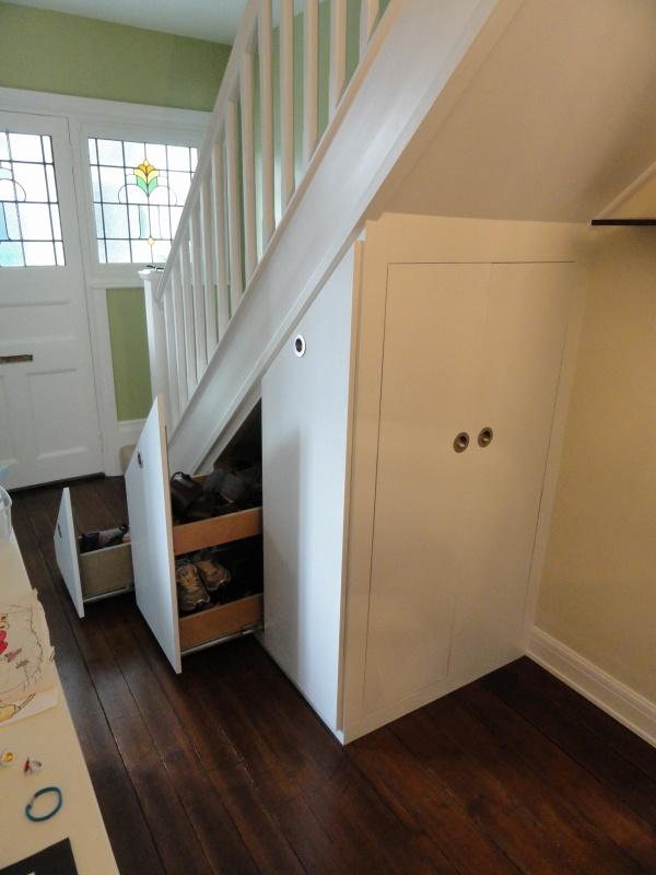 Under stairs storage | ESCALERAS-STAIRS STORAGE | Pinterest