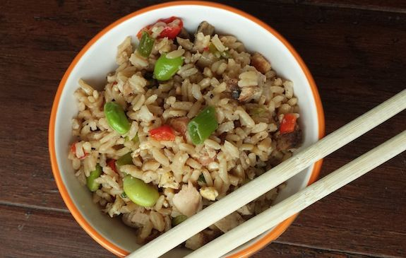 Kid friendly fried rice | grains | Pinterest