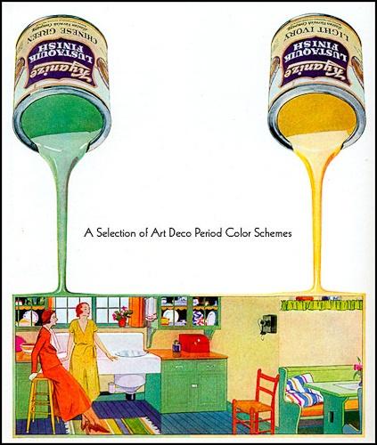 Art deco color schemes art deco pinterest for Art deco colours