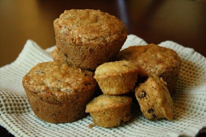 chocolate chip zucchini muffins | breads | Pinterest