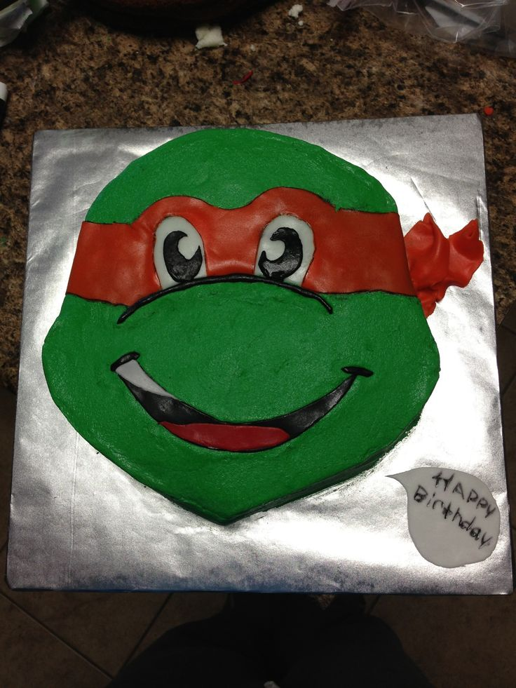 Wilton Ninja Turtle Head Cake Pan