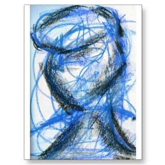 Figure in Black and Blue By: Luminosity  http://luminosity.livejournal.com