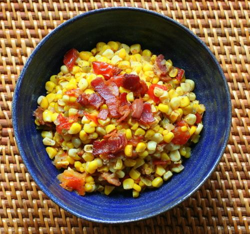 Maque Choux (Cajun Stewed Corn and Tomatoes) - one of my favorite side ...