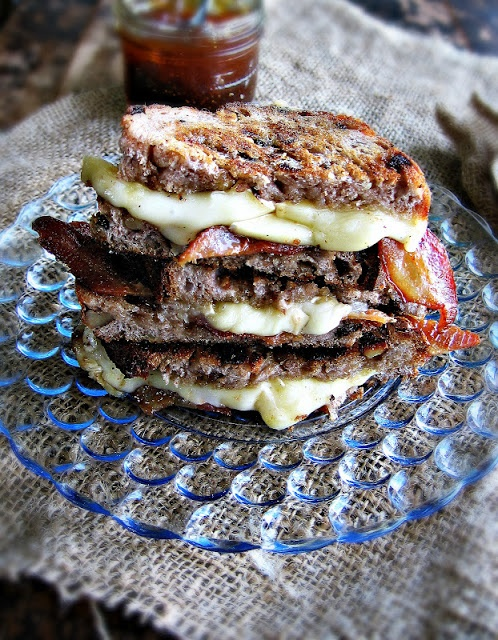 Brie & Bacon Grilled Cheese with Fig Jam | Favorite Recipes | Pintere ...