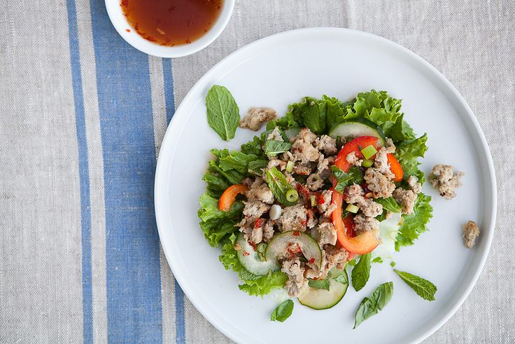THAI LARB CHICKEN SALAD | Yes, I do make this stuff! | Pinterest