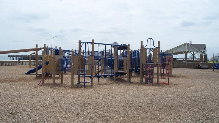 Buckroe beach playground hampton va pinterest for Buckroe beach fishing pier