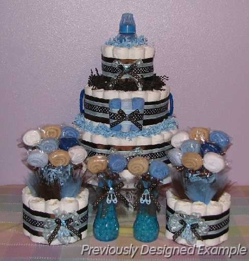 Jordan Baby Gift Baskets : Pin jordan diaper cake on