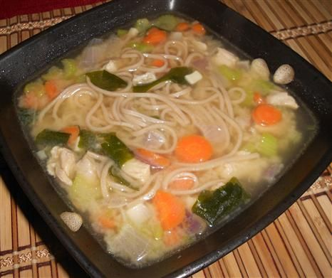 Clean Chicken Miso Soup with Japanese Buckwheat Noodles - The Kitchen ...