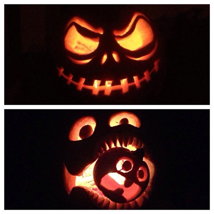 Nightmare Before Christmas Zero Pumpkin Carving Ideas Nightmare before ... Zero Nightmare Before Christmas Pictures