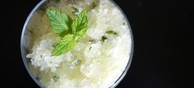 Honeydew Granita | Healthy Treats | Pinterest