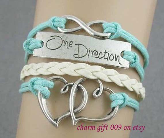 Bracelet Cupid Heart Shaped Bracelet A Direction Bracelet