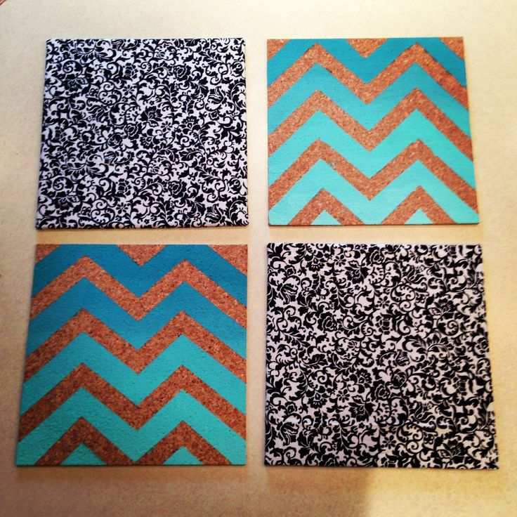 Diy chevron and fabric cork boards dorm decor pinterest for Diy cork board