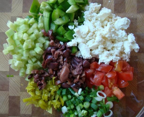 greek salad greek pasta salad greek chopped salad greek salad sandwich ...