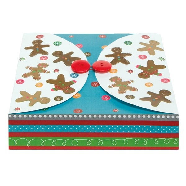 Gingerbread Squares Goodie Giver - Containers