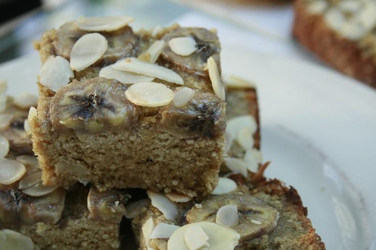 Made with Quinoa flour Banana Cake #vegan #gluten_free #sugar_free